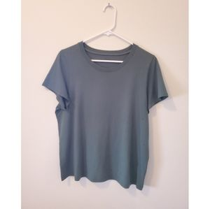 [Madewell] Olive Green Crew Short Sleeve T…